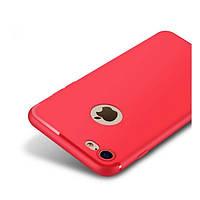 Накладка для iPhone 7/iPhone 8 силікон 0,2mm Infinity Slim Червоний