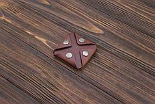 Монетница ручной работы из кожи Краст VOILE cn3-kcog, фото 2