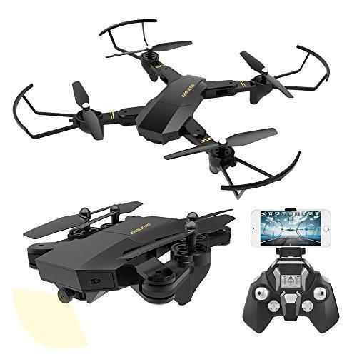 Квадрокоптер дрон S9 с камерой Wi-Fi и пультом управления