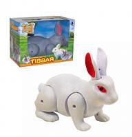 Кролик на батарейках (белый) 333-30