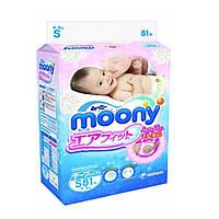 Подгузник Moony S (4-8 кг) 81 шт (4903111243822)