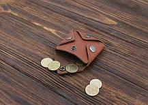 Монетница ручной работы из кожи Краст VOILE cn3-klcog, фото 2
