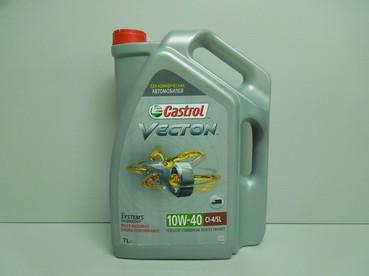 Полусинтетическое моторное масло Castrol Vecton 10w-40 7L