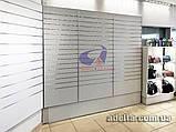 Эконом-панель, экспо-панель, серебро, шаг 100мм, 12 пазов, фото 7