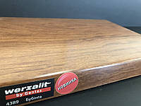 Подоконник Werzalit 4389 золотой дуб Бубінга 200 мм