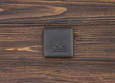 Монетница ручной работы из кожи Краст VOILE cn3-kbrn, фото 3
