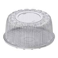 Контейнер пластиковый для тортов IT-209, 4800мл, d-25,2см. h-13см. (24см)
