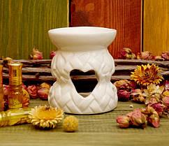 "Аромалампа ""Плетёнка"" из керамики (4 цвета)"