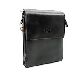 Маленькая мужская сумка POLO из качественной кожи PU(b886-0), фото 2