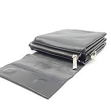 Маленькая мужская сумка POLO из качественной кожи PU(b886-0), фото 3