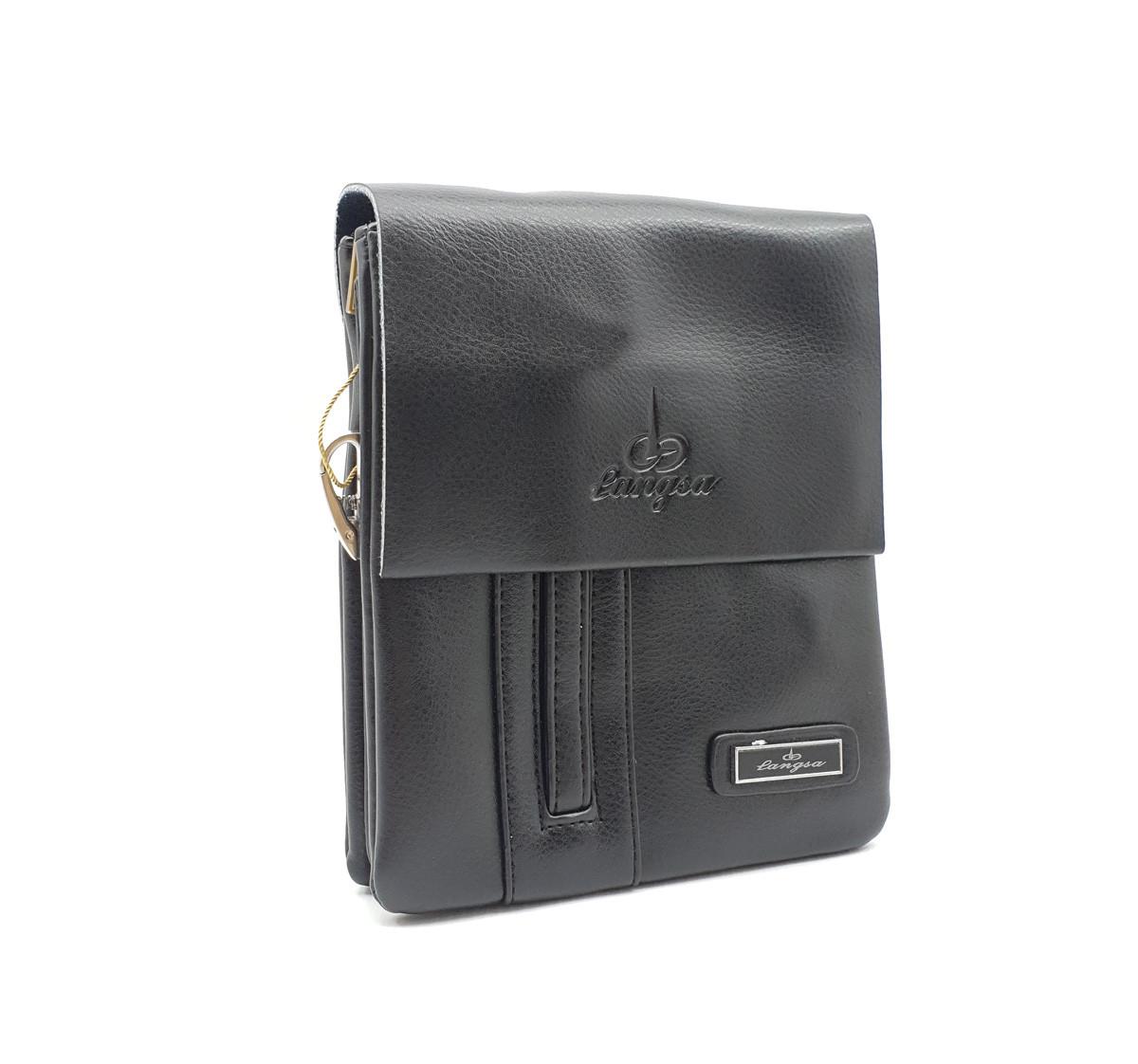 2d50685033cd Маленькая мужская сумка Langsa из качественной кожи PU(6725-1) - Tinder  Интернет
