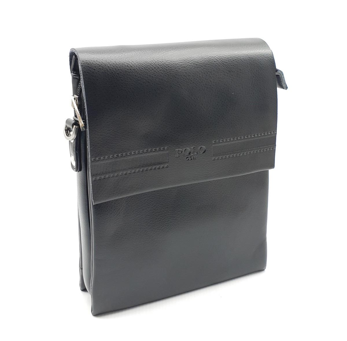 Чоловіча сумка POLO з якісної шкіри PU(b6761-2)