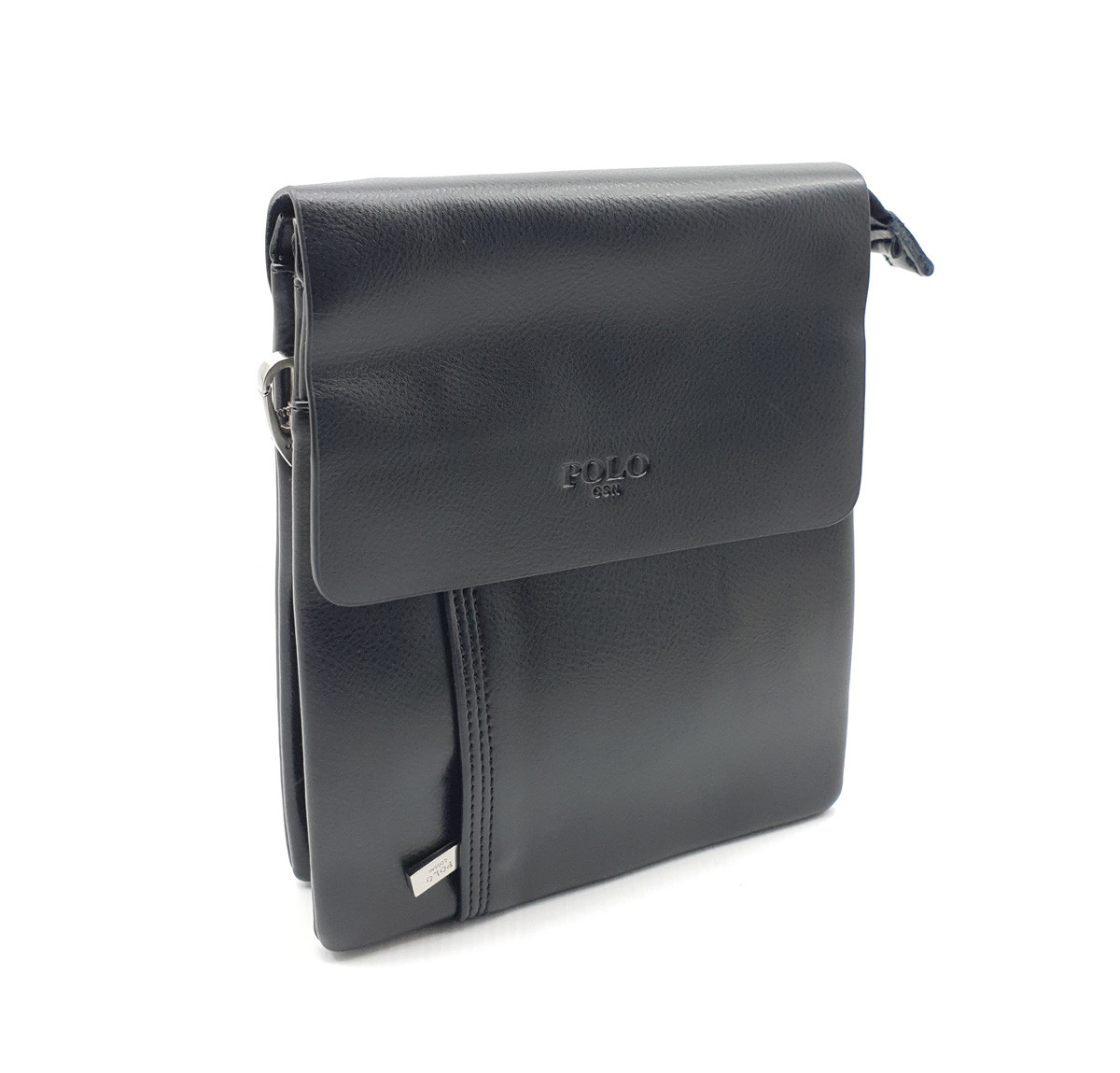 Мужская сумка POLO из качественной кожи PU(b372-2)