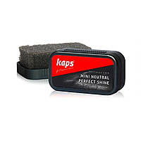 Мини губка для обуви Kaps Mini Neutral Perfect Shine