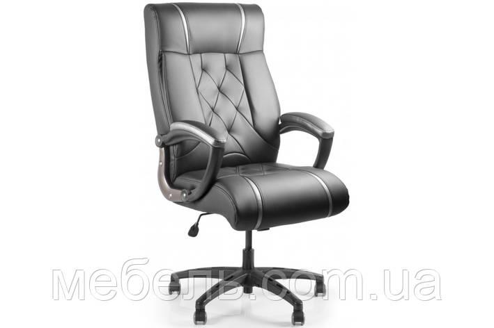 Компьютерное офисное кресло Barsky Design PU blaсk BD-02, фото 2