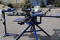 Шелкотрафаретный станок 4х4 с микроприводками, Шелкотрафаретное оборудование