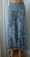 Юбка женская летняя бренд вышивка пайетки Atmosphere р.48-50, фото 1