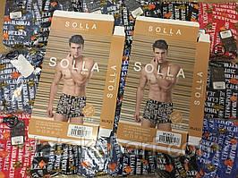 "Трусы мужские боксеры Solla 46-54 ""Орнамент G-fashion"" (815)"