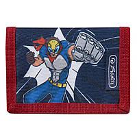 50021376S Кошелек детский Herlitz Portmone Super Hero Супергерой