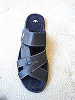 Сланцы, тапочки, шлепанцы кожаные мужские 46-48 р, фото 1