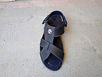 Мужские кожаные сандалии трансформеры большие размеры 46-49 р-р