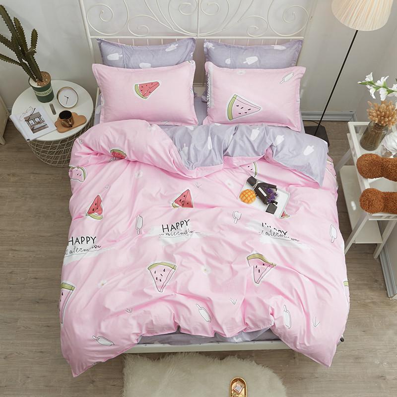 Комплект постельного белья Арбуз (двуспальный-евро) Berni