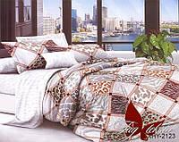 Комплект постельного белья евро XHY2123 ТМ TAG Evro, постельное белье Евро