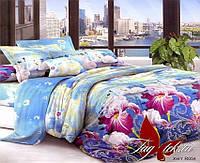Комплект постельного белья евро XHY054 ТМ TAG Evro, постельное белье Евро