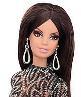 Коллекционная кукла Барби Сияние города Кружевное платье - City Shine Barbie Doll - Lace Dress (CFP38), фото 3