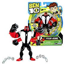 Бен 10 Фигурка силач, перезагрузка, Ben 10, Basic Four Arms, оригинал из США
