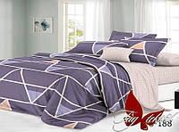 Комплект постельного белья евро с компаньоном S188 ТМ TAG Evro, постельное белье Евро