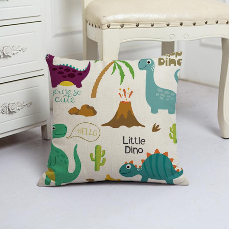 Подушка декоративная Маленькие динозавры 45 х 45 см Berni