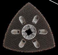 Подошва 56H012 GRAPHITE шлифовальная для многофункционального инструмента, на липучке 83 x 83 x 83 мм