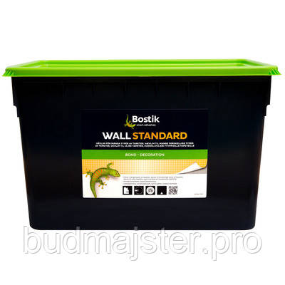 Клей для шпалер Bostik Wall Standard 70, 15 л