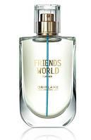 Туалетная вода женская Friends World for Her, Oriflame, Фрэндс Ворлд Фо Хё, Орифлэйм, 50 мл, 33962