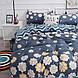 Комплект постельного белья Цветы (двуспальный-евро) Berni, фото 9
