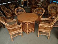 """Плетеная мебель из лозы. Набор """"Простый 8"""""""