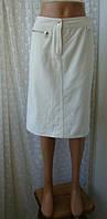 Юбка женская карандаш миди плотный хлопок бренд Koan р.44-46, фото 1