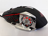Мышь компьютерная Мышка игровая X6 проводная c подсветкой