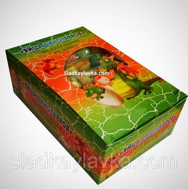 Жевательная резинка Яйца Динозавра 30 шт (China)