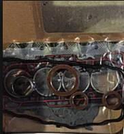 Прокладки двигателя набор (манжеты коленвала) FAW 1011, FAW 6371 LJ465Q, 0,97L, фото 1