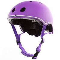 Шлем защитный детский Globber фиолетовый, размер XS 51-54см (500-103)