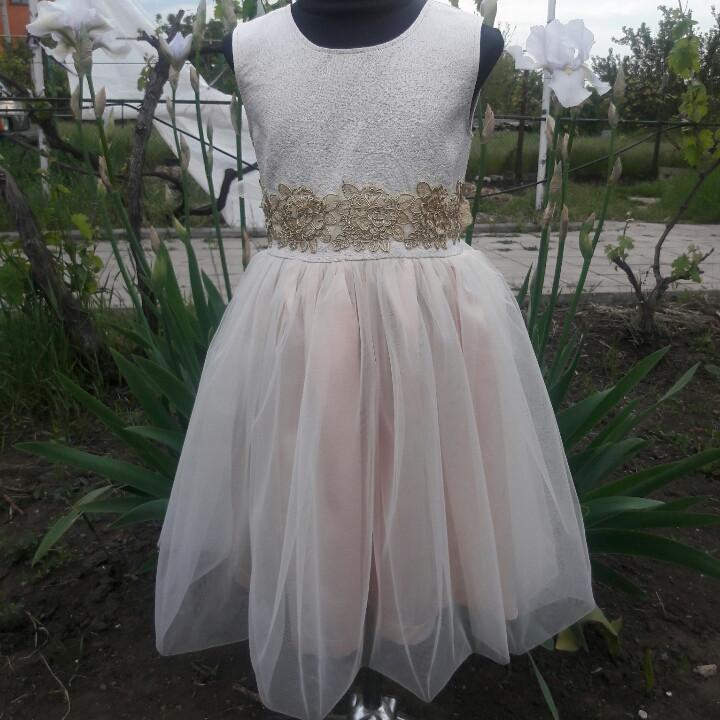 """Плаття святкове """"Попелюшка"""" для дівчинки підлітка 122-140"""
