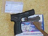 Газобалонне пневматичний пістолет мр655к baikal. Іжевський. Росія, фото 5