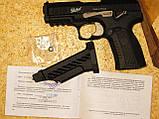 Газобалонне пневматичний пістолет мр655к baikal. Іжевський. Росія, фото 7