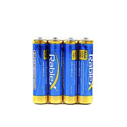 Батарейки RABLEX R03 / 1/5v солевая
