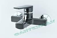 Смеситель для ванны из термопластичного пластика Plamix Oscar 009 black