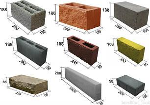 Газобетон, Камень, Блоки