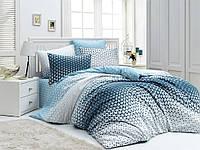 Комплект постельного белья 200х220 LIGHT HOUSE бязь голд BLAZE синий