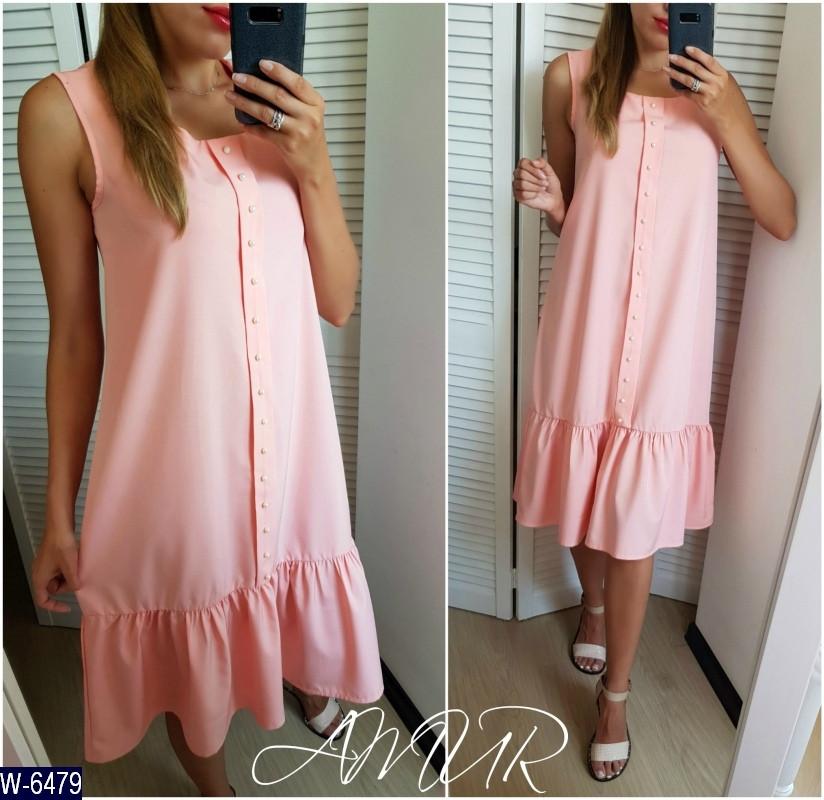 Стильное платье    (размеры 48-54)  0180-52